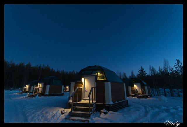 Laponia iglú cristal mina amatistas sauna finlandesa - Nuestro iglú de cristal