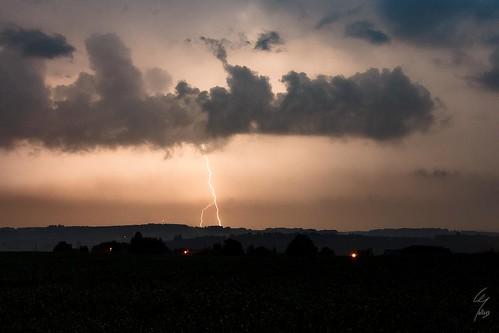 Orage dans les Ardennes belges - Thunderstorm in the belgian Ardennes - Wideumont (BE)