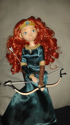 1st edition Merida, I'm still so happy with her.  Her curls still are the same as when I got her in 2012