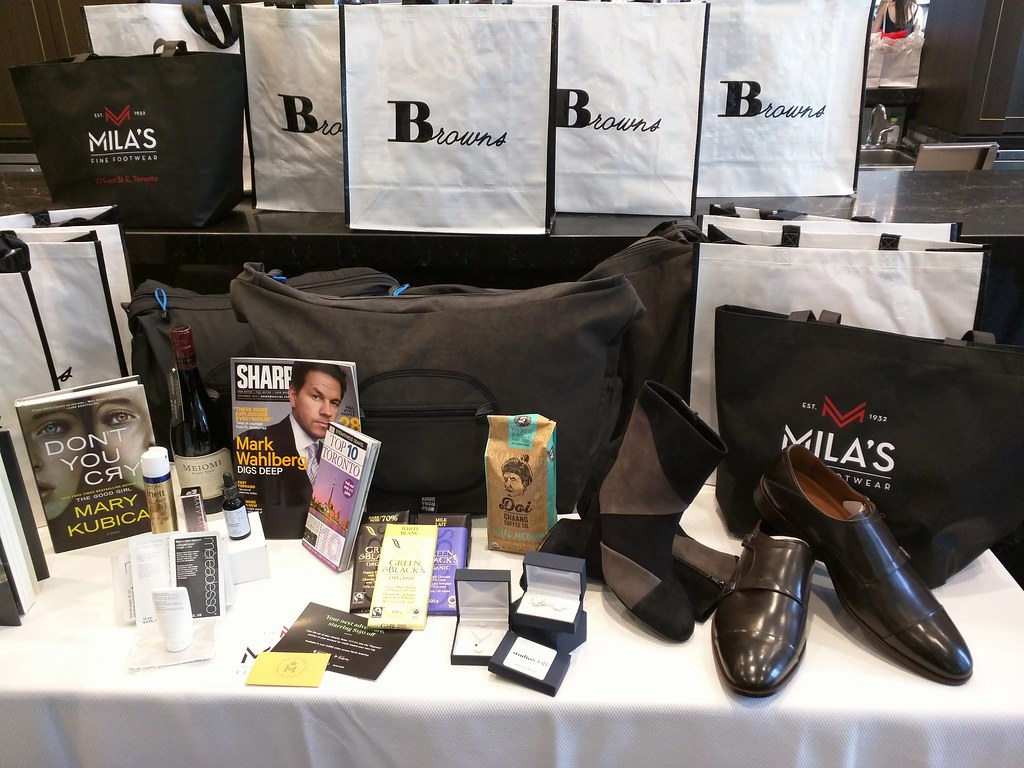 The swag at Bask-It Style at Thompson Hotel