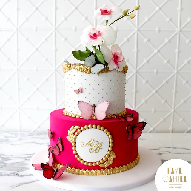 Cake by Faye Cahill Cake Design