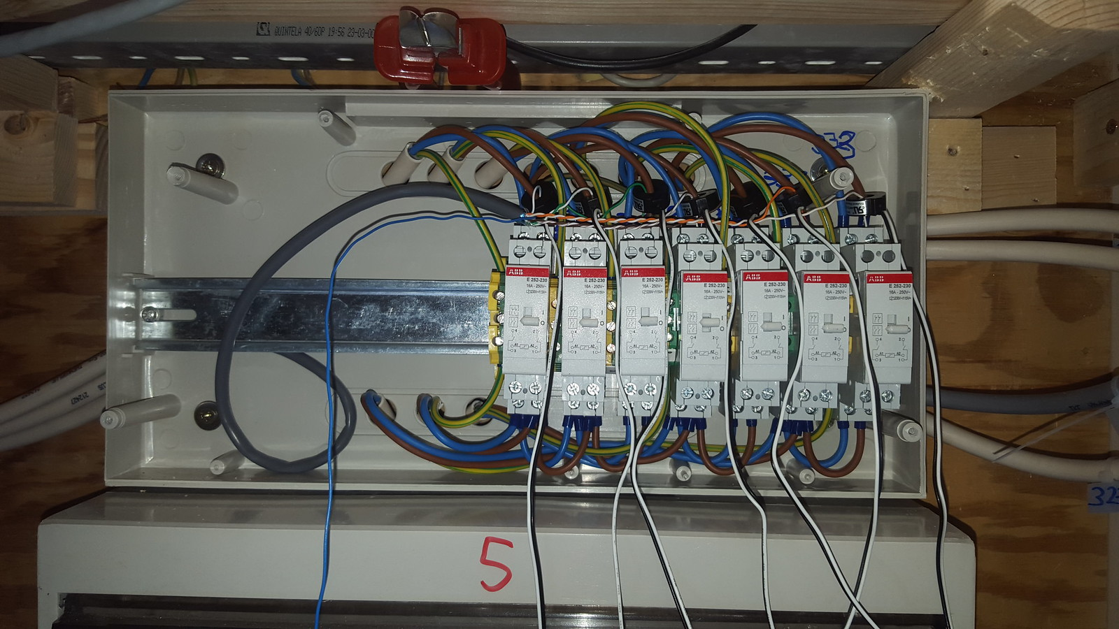Home Automation Domotica Forum Europe Bwired View Topic Wiring Closet Mess And Some Of The I Made After It Again
