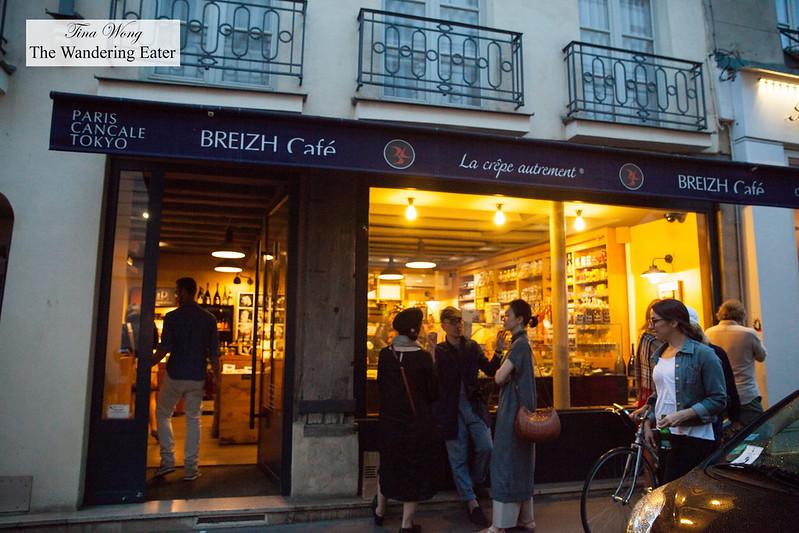 Little Breizh Cafe Paris