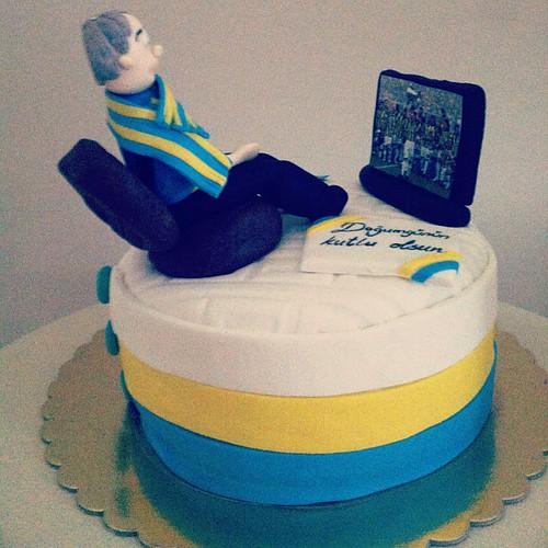 #Fenerbahce#birthdaycake by l'atelier de ronitte