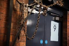 Studio 9 door