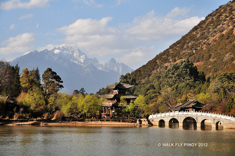 Black Dragon Pool Park, Lijiang, China