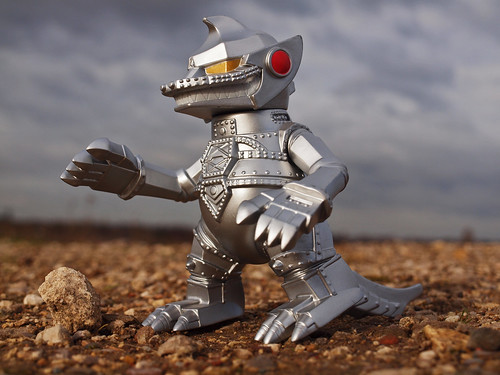 mechagodzilla on the move