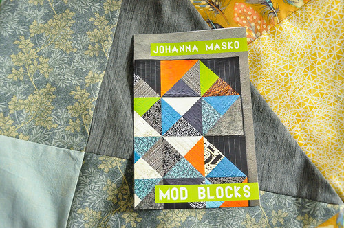 Mod Blocks quilt top