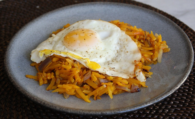 Butternut Squash Hash Browns