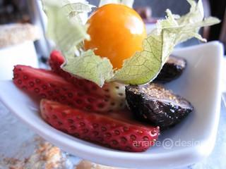 West coast afternoon tea fruit selection
