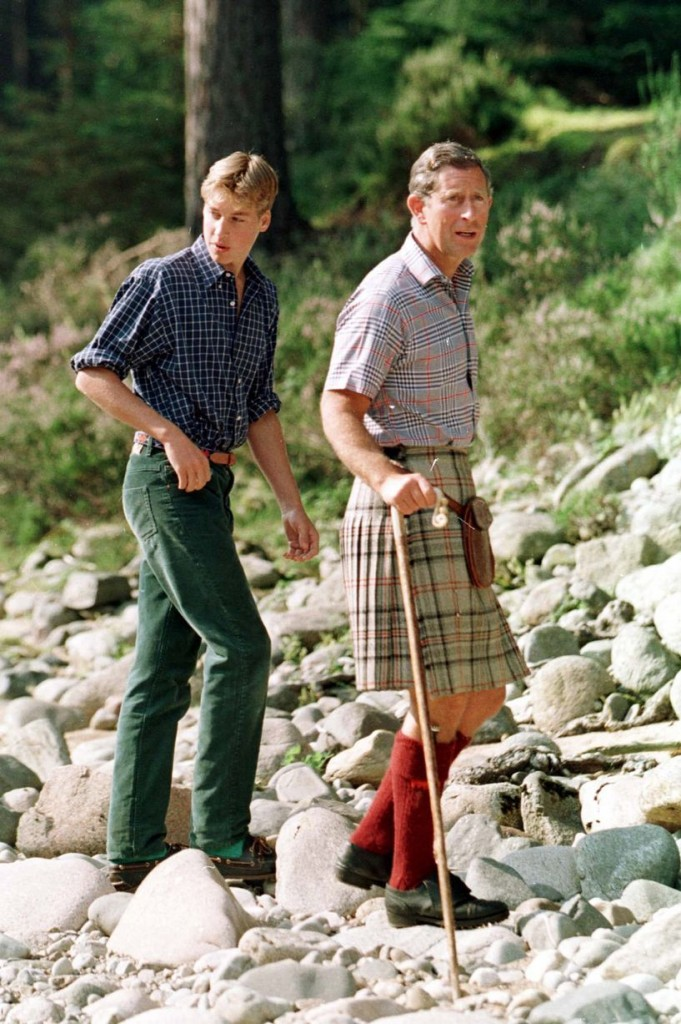 1997 Prince+Charles+with+sons+at+Balmoral+in+August+1997+-+