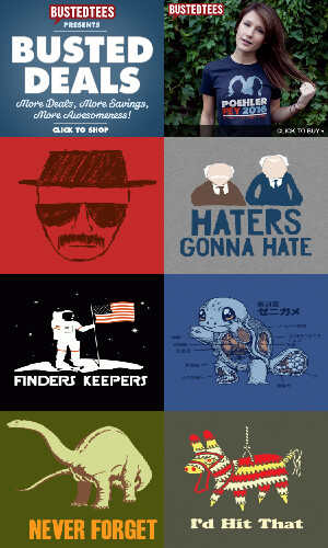 BustedTees - The Best Thing To Happen To T-Shirts Since Sleeves