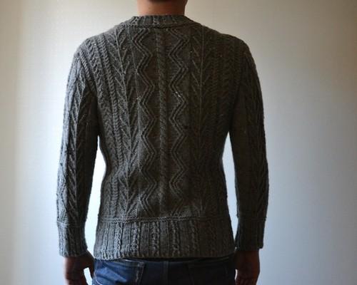 Men's Aran Pullover