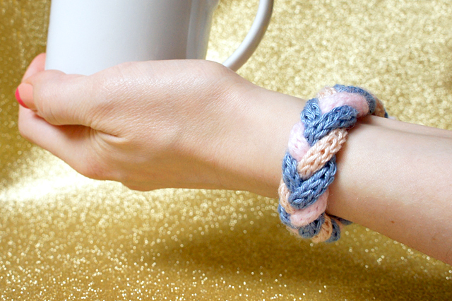 Strickliesel Armband