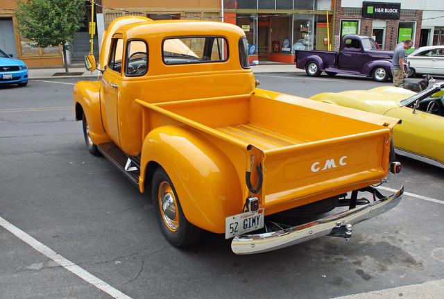 1952 gmc 5 window half ton pickup truck 5 of 6 flickr photo sharing. Black Bedroom Furniture Sets. Home Design Ideas