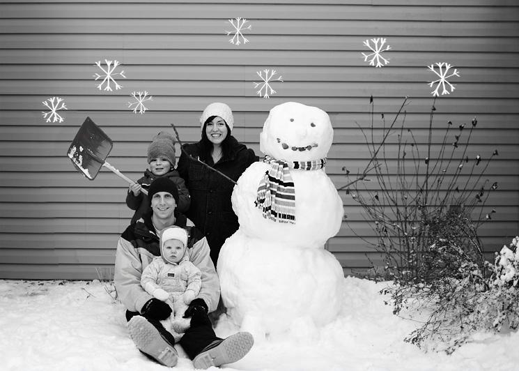 Train the Snowman