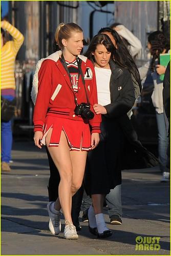 NeNe Leakes Dianna Agron & Lea Michele