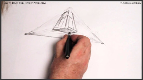 learn how to draw three point perspective 006