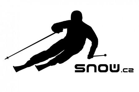 Samolepka s lyžařem SNOW pro každého nadšence!