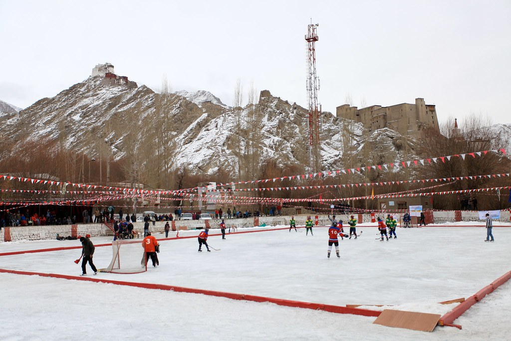 Ice Hockey at 3500 m ASL