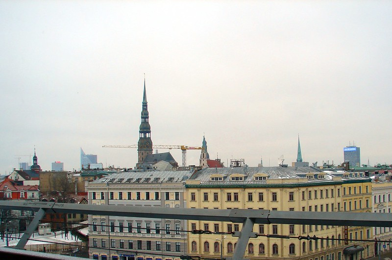 Skyline Riga by aigarsbruvelis
