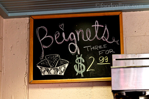 Sign at Cafe Beignet (New Orleans)