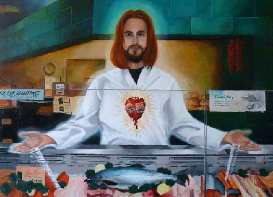 """Jesus at work"""