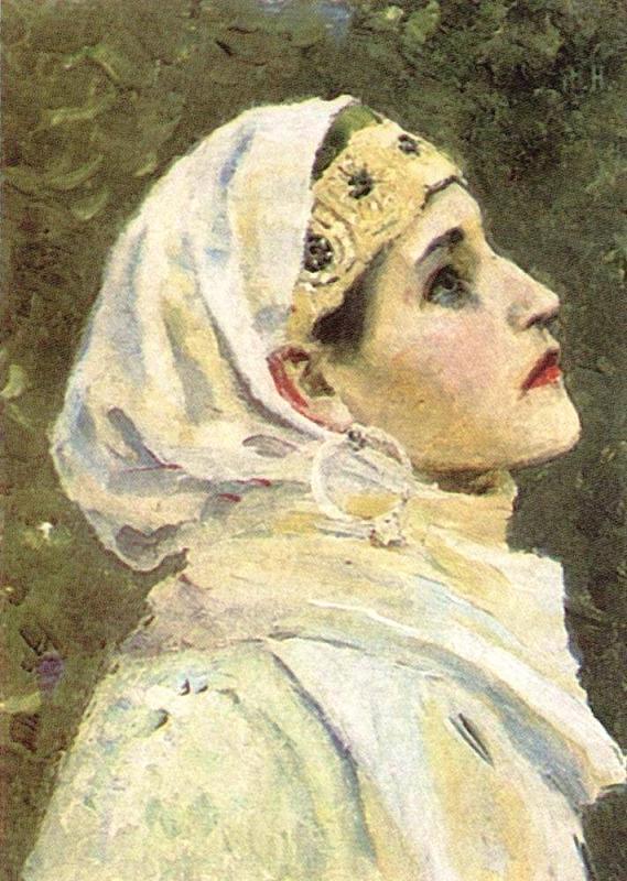 FEMME RUSSE - Peinture  dans FEMMES 8496942005_d3e18d3522_b