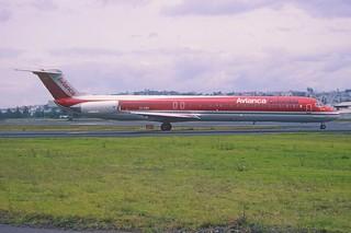 168ag - AVIANCA MD-83; EI-CBY@UIO;01.03.2002