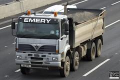 Foden 3000 400 8x4 Tipper - Silver - Emery - A1 KFE - M1 J10 - Steven Gray - IMG_1533