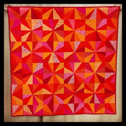 starburst by Nicole Neblett #quiltcon