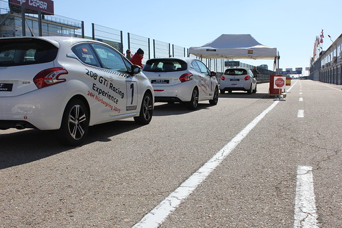 208 GTi Racing Experience Jarama 2013
