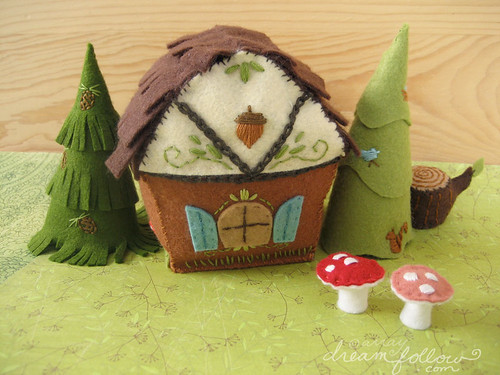 woodland cottage PDF patter