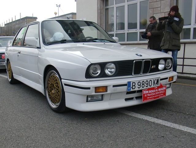 M3 E30 LLANTAS BBS