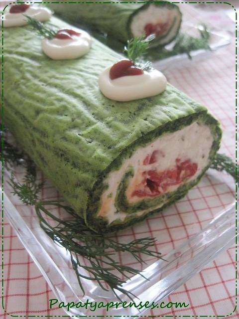 ıspanaklı rulo salata (7)