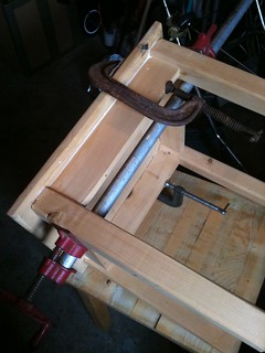 More clamping and gluing