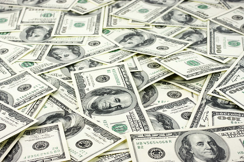 Piles of money, Polaris Global business opportunity
