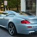 2006 BMW M6 V10 Silver on Black and Cream White Leather in Beverly Hills @porscheconnection P3912A 794