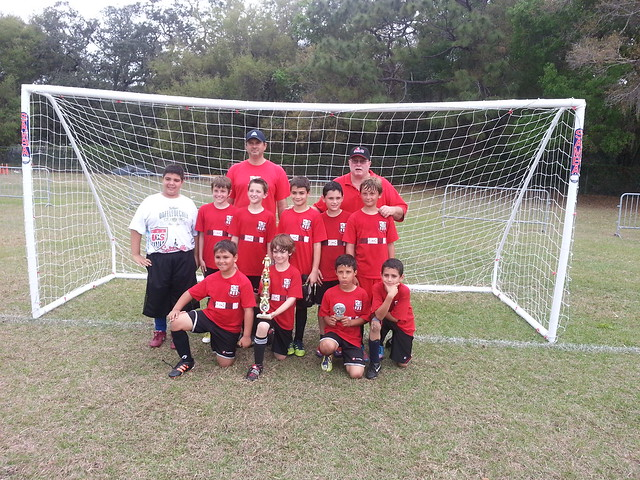 Spirit Team Wins U10 PAL Tournament