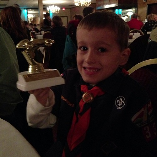 Pinewood Derby Winner, third place