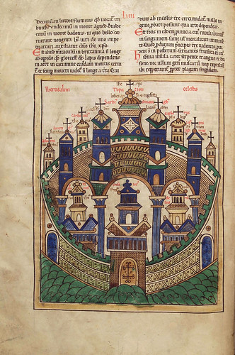 013-Liber floridus – siglo XII- © Herzog August Bibliotek