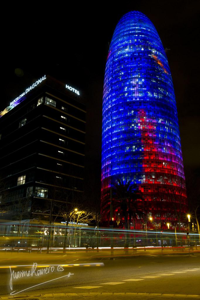 Torre Agbar. Barcelona.