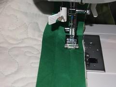 sewing, art, green,