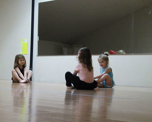 Lily at ballet