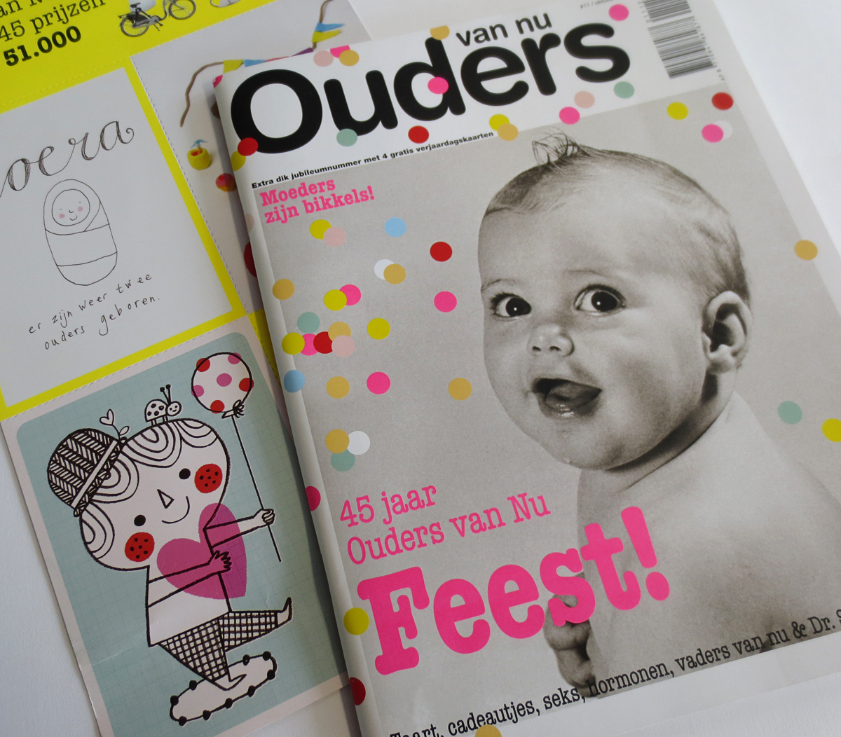 My Illustration for Dutch parenting Magazine Ouders van Nu, Issue #11, 2012