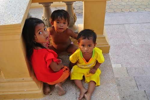 children, Phnom Penh
