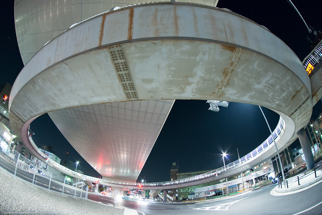 円形歩道橋 #06