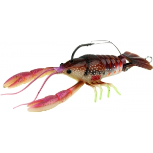dahlberg-clackin-crayfish Brown Red