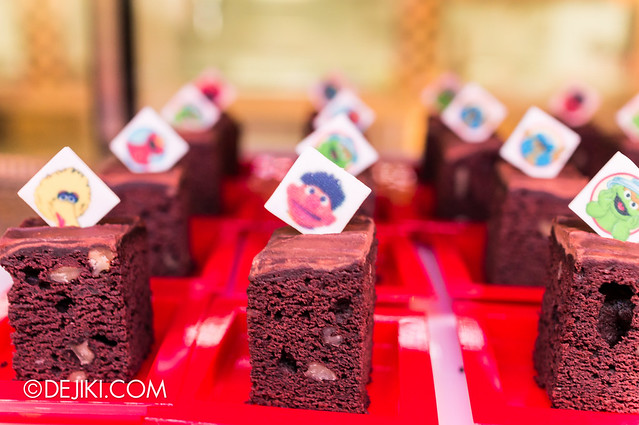 Sesame Street Character Breakfast at Universal Studios Singapore - Character Brownies