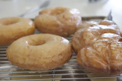 Vanilla Glaze Yeast Donuts